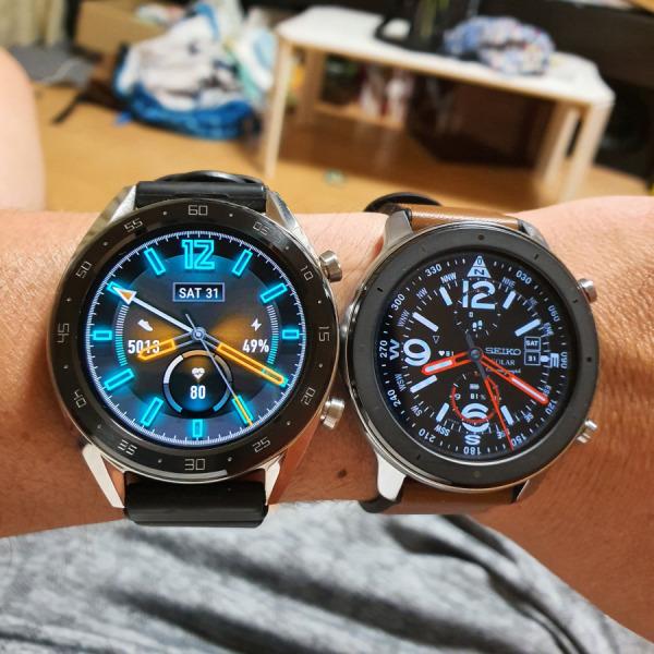 huaweiwatch gt VS Amazfit GTR