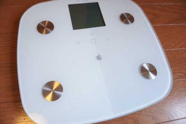 アップルマーク 印刷 体重計