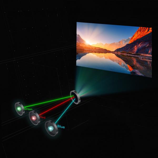 Polaris 4K Ultra Short Throw Laser TV