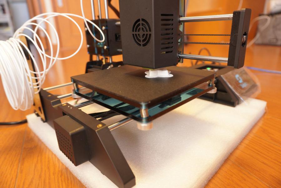 selpic star A 3Dプリンター 印刷中