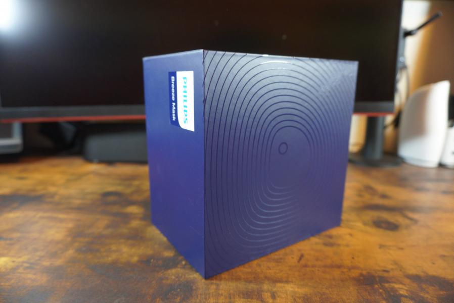 フィリップス 電動ファン付マスク acm066/01 外箱