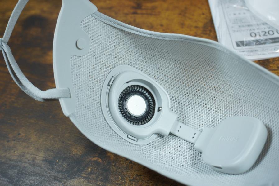 フィリップス 電動ファン付マスク acm066/01 日本電産製モーター搭載
