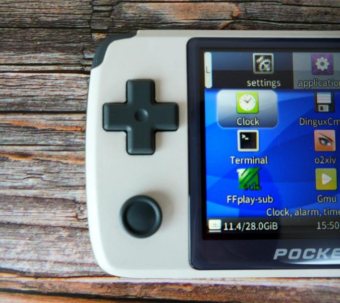 New Pocket Go Dパッド 十字キー