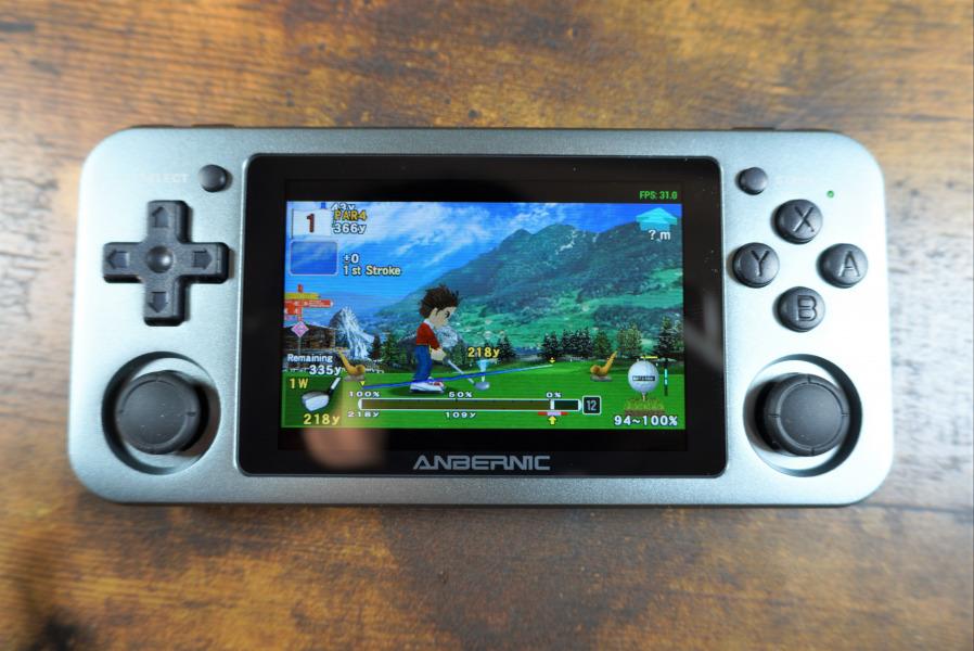RG351M ゲーム画面