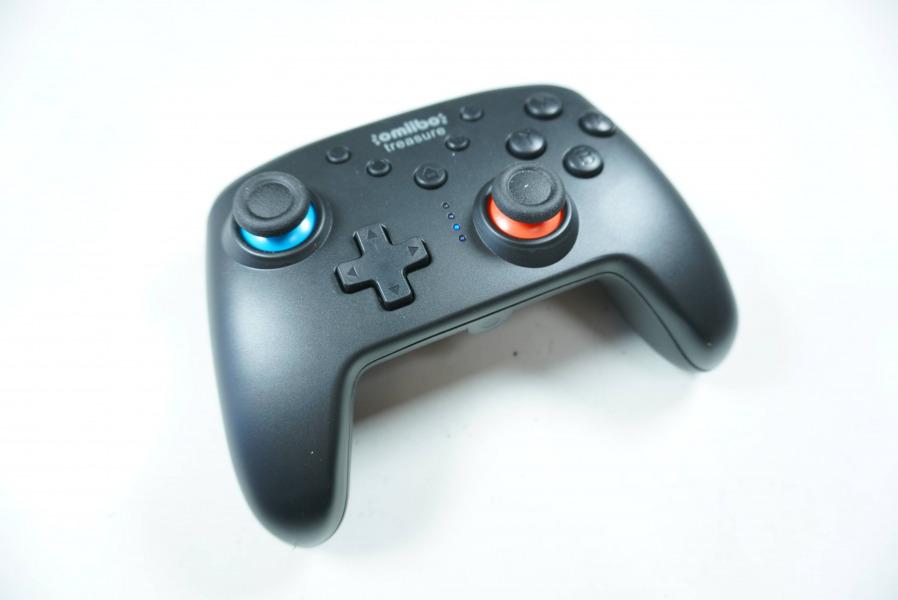 Switchコントローラー NFC機能付き 振動 ジャイロセンサー連射 Amiibo