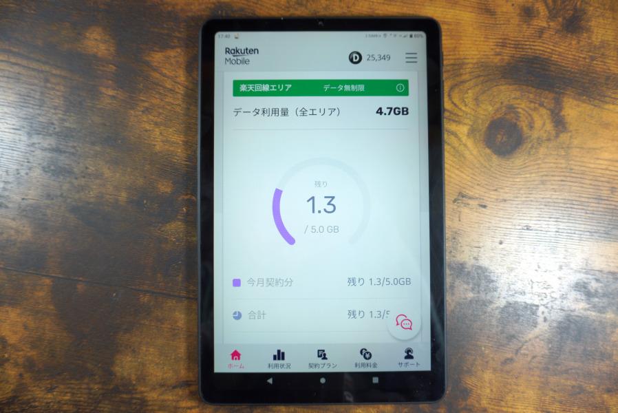 Alldocube iplay40タブレット 楽天モバイル
