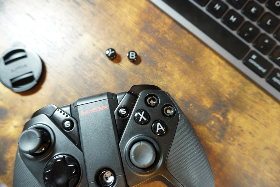 G4 Pro ボタンスワップ可能
