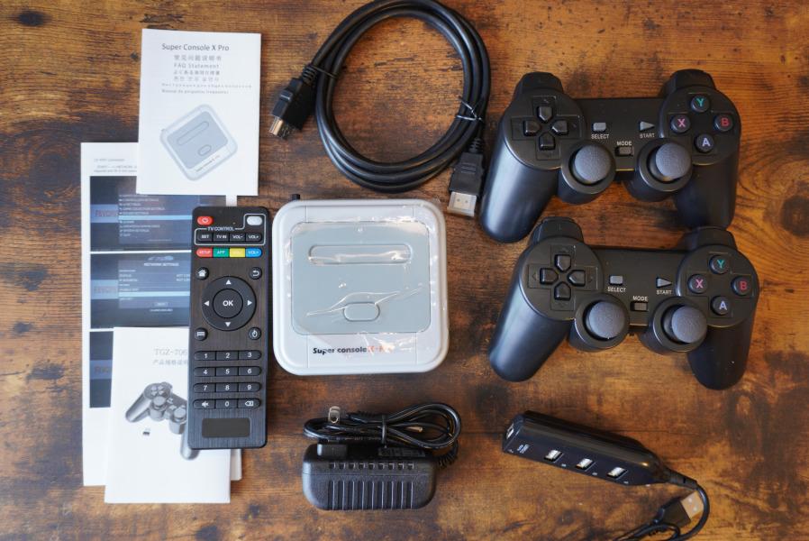 super console x pro 付属品