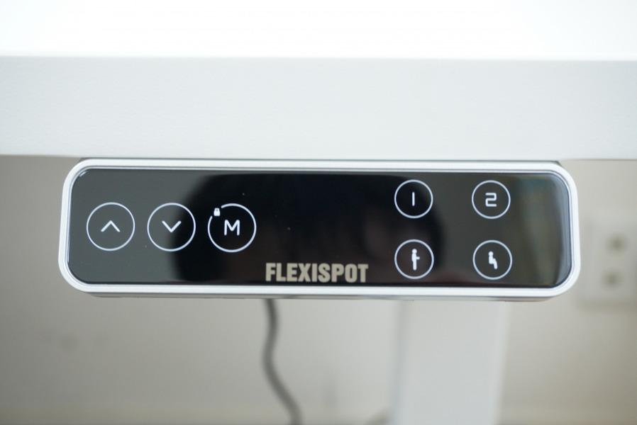 スタンディングデスク Flexispot E7 操作パネル