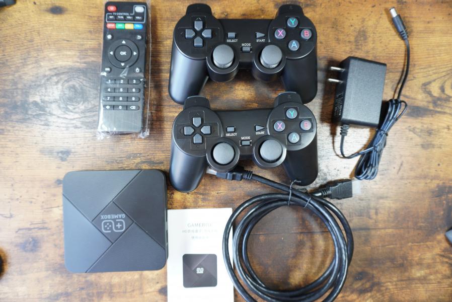 GAME BOX G5 付属品