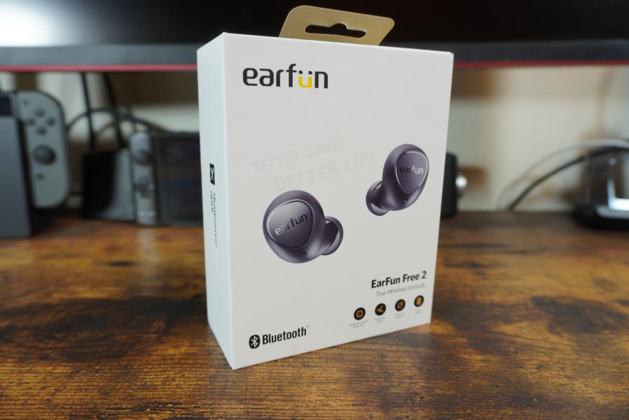 EarFun Free 2 箱