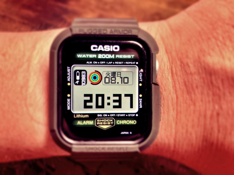 Applewatch  G-Shock