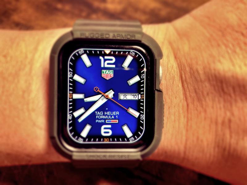 Applewatch タグホイヤー