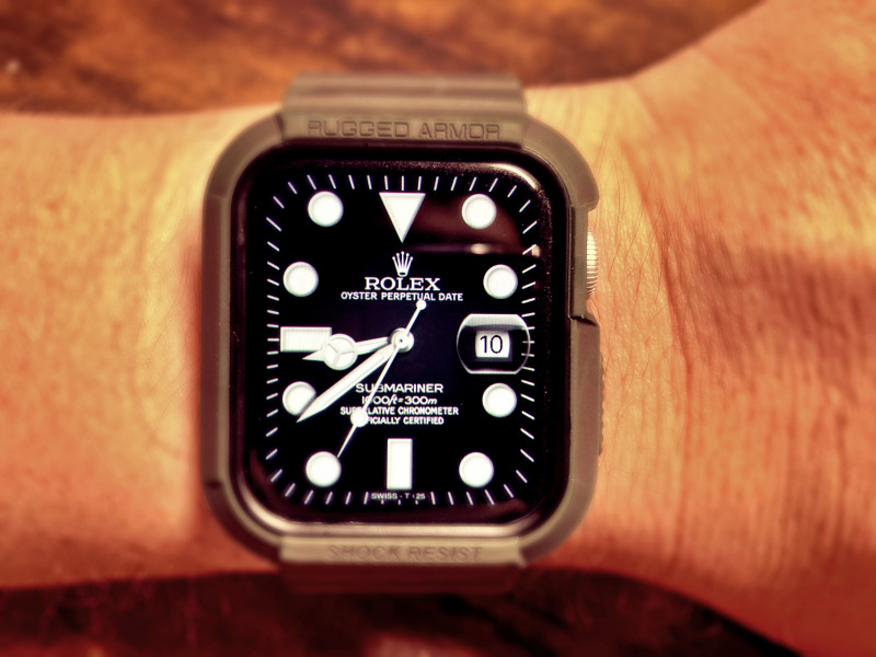 Applewatch ロレックス