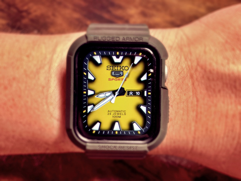 Applewatch seiko
