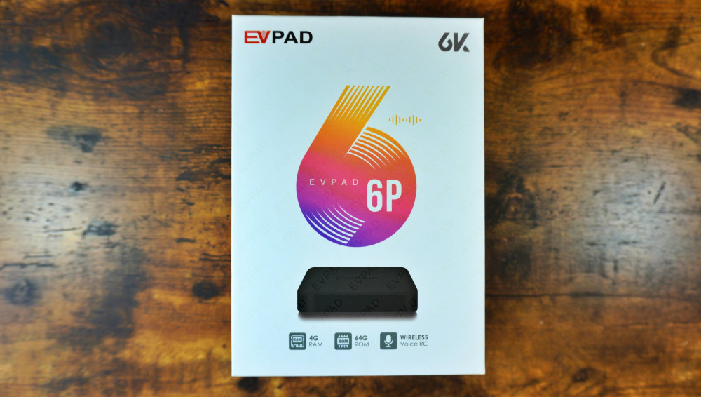 EVPAD 6P 箱