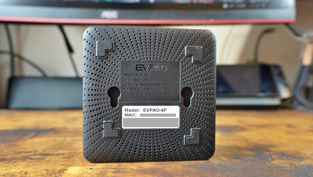 EVPAD 6P 背面