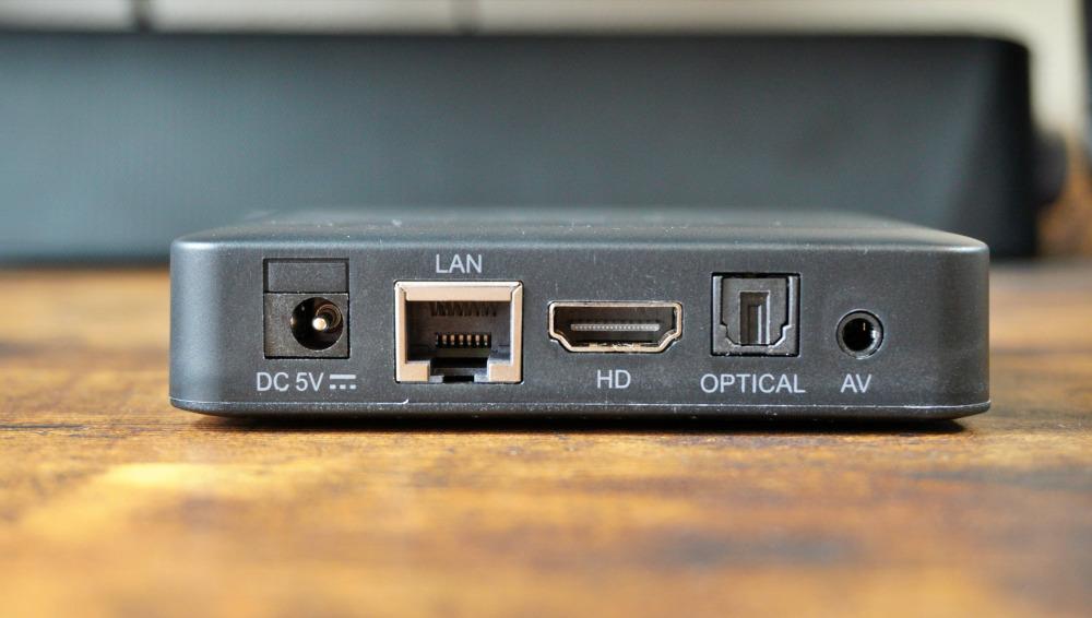 EVPAD 6P HDMI 有線LAN端子