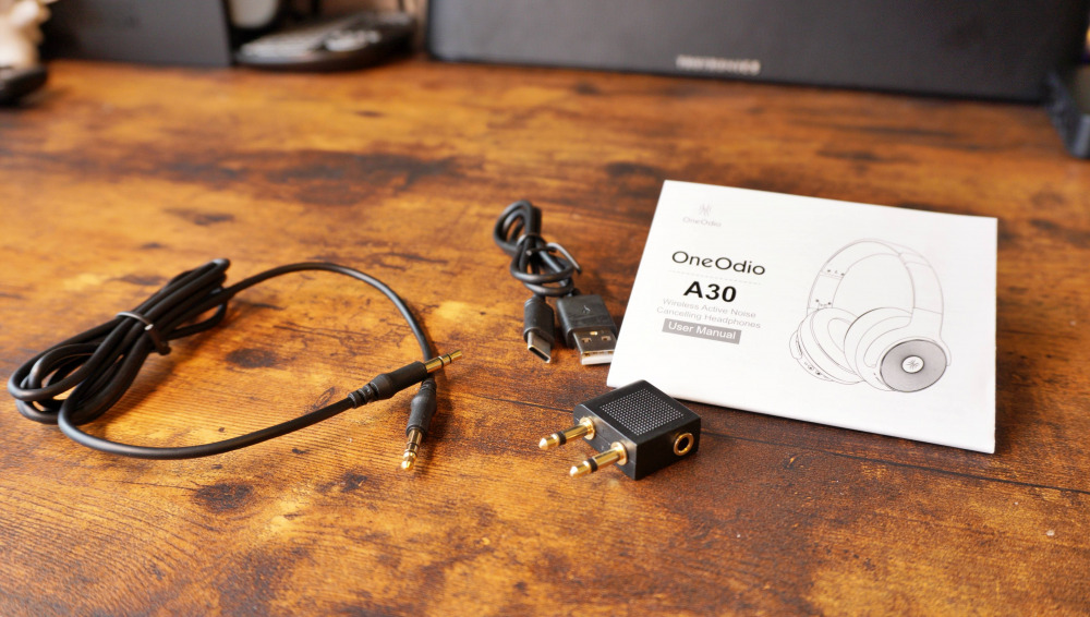 oneodio A30 付属品