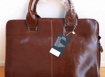 アリエクスプレスで買った本革のバッグが安かった