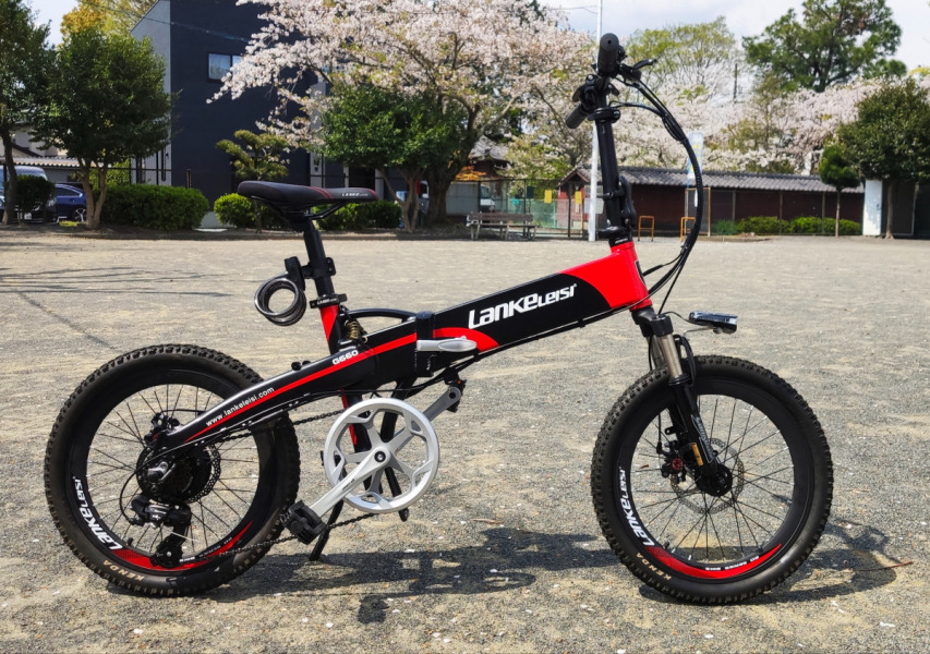 Lankeleisi フル電動自転車