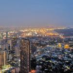 マハナコンタワー 夜景