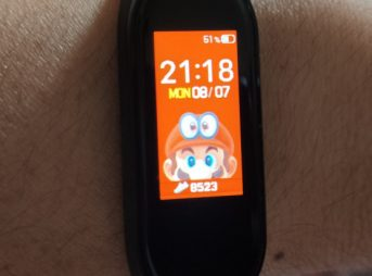 Xiaomi miband4 MARIO