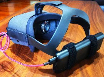 oculus quest カウンターウェイト モバイルバッテリー