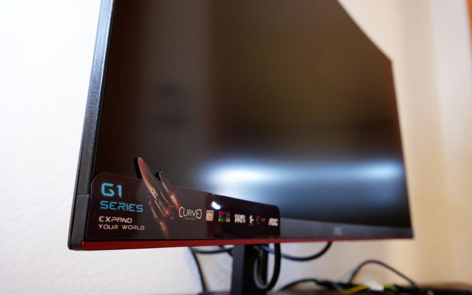 AOC ゲーミング モニター C27G1/11 側面
